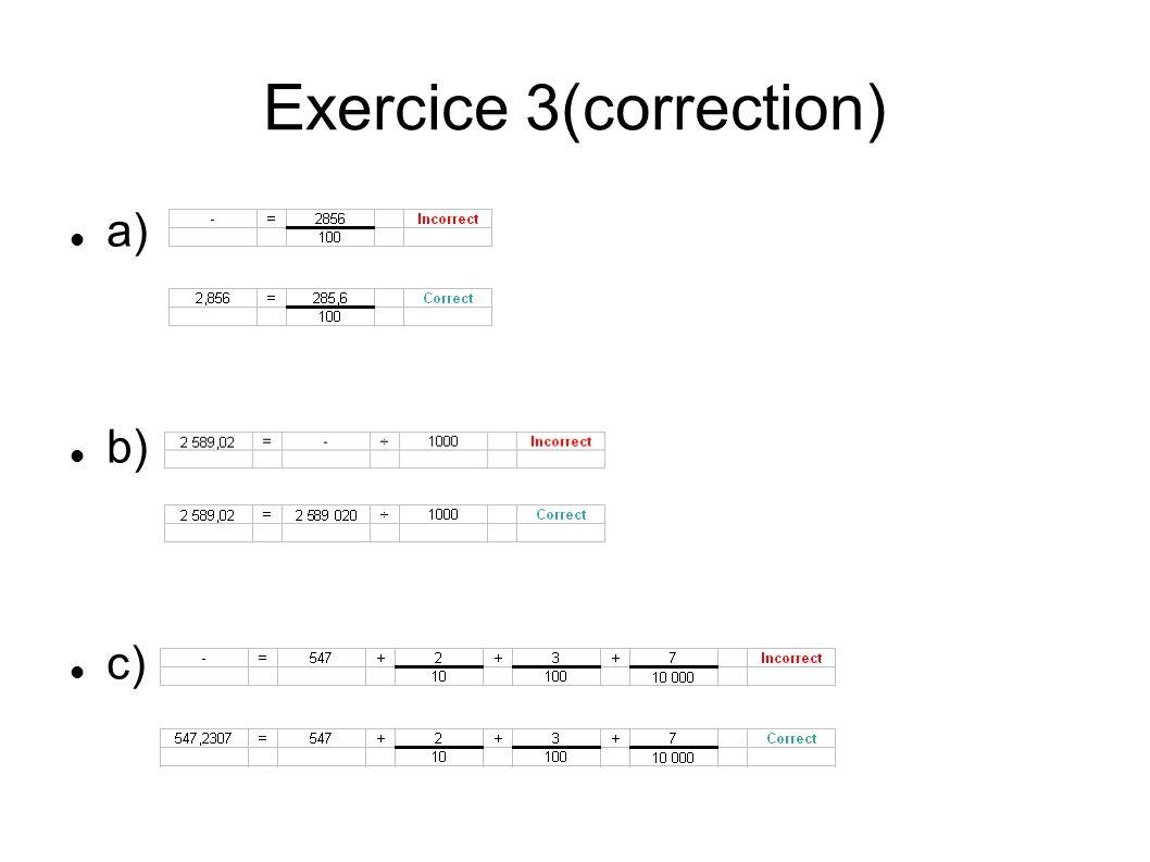 Exercice 3(correction)