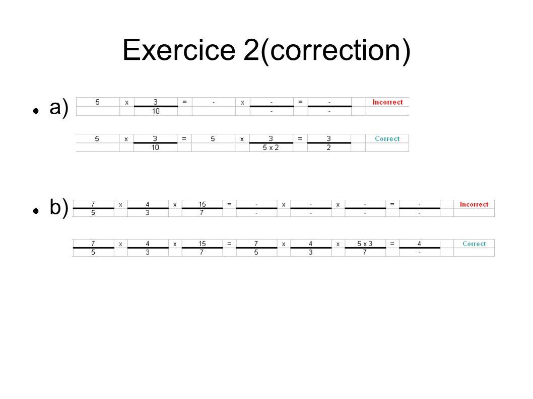 Exercice 2(correction)