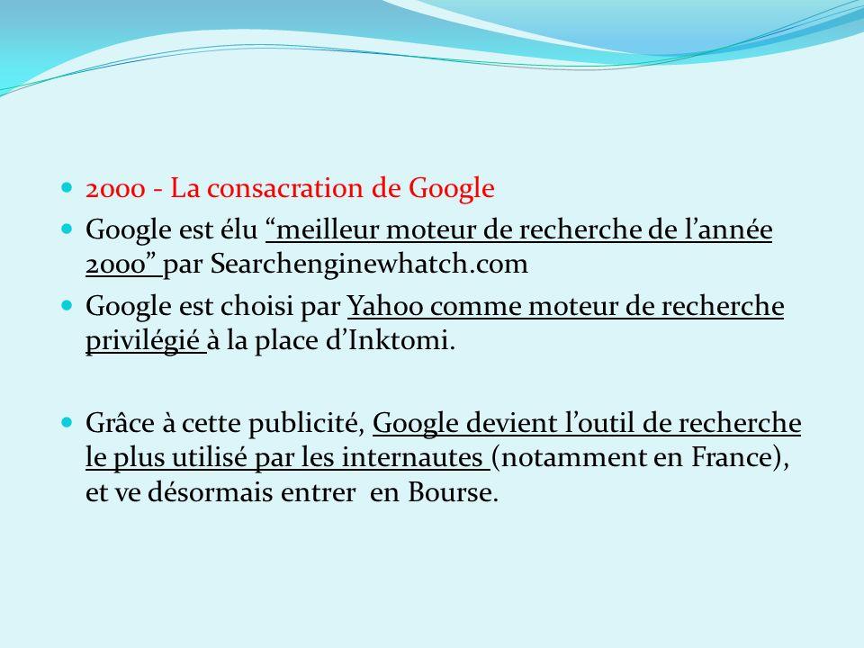 2000 - La consacration de Google