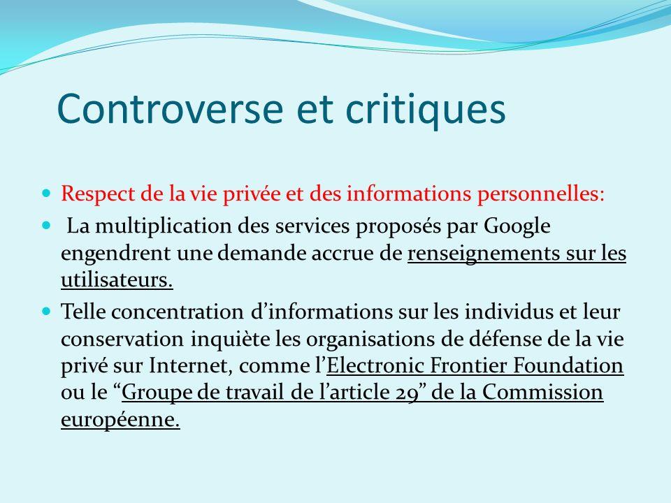 Controverse et critiques
