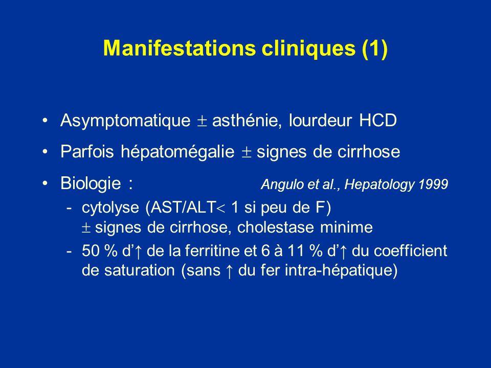 Manifestations cliniques (1)