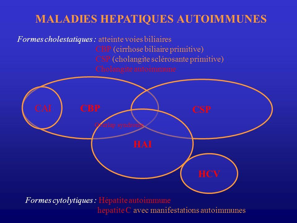 MALADIES HEPATIQUES AUTOIMMUNES