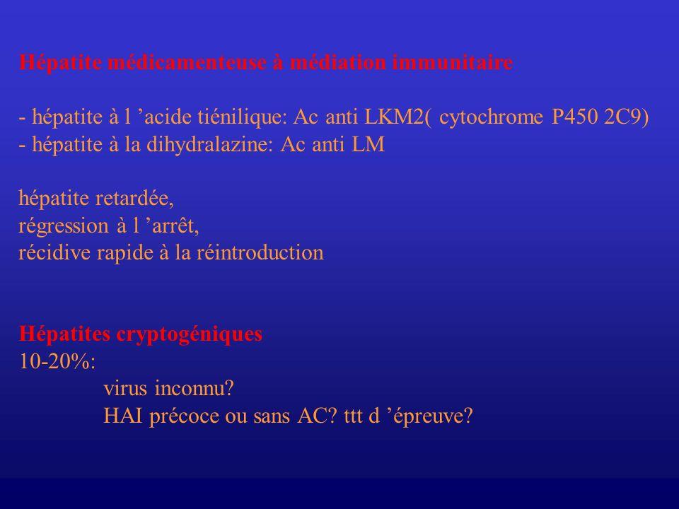 Hépatite médicamenteuse à médiation immunitaire