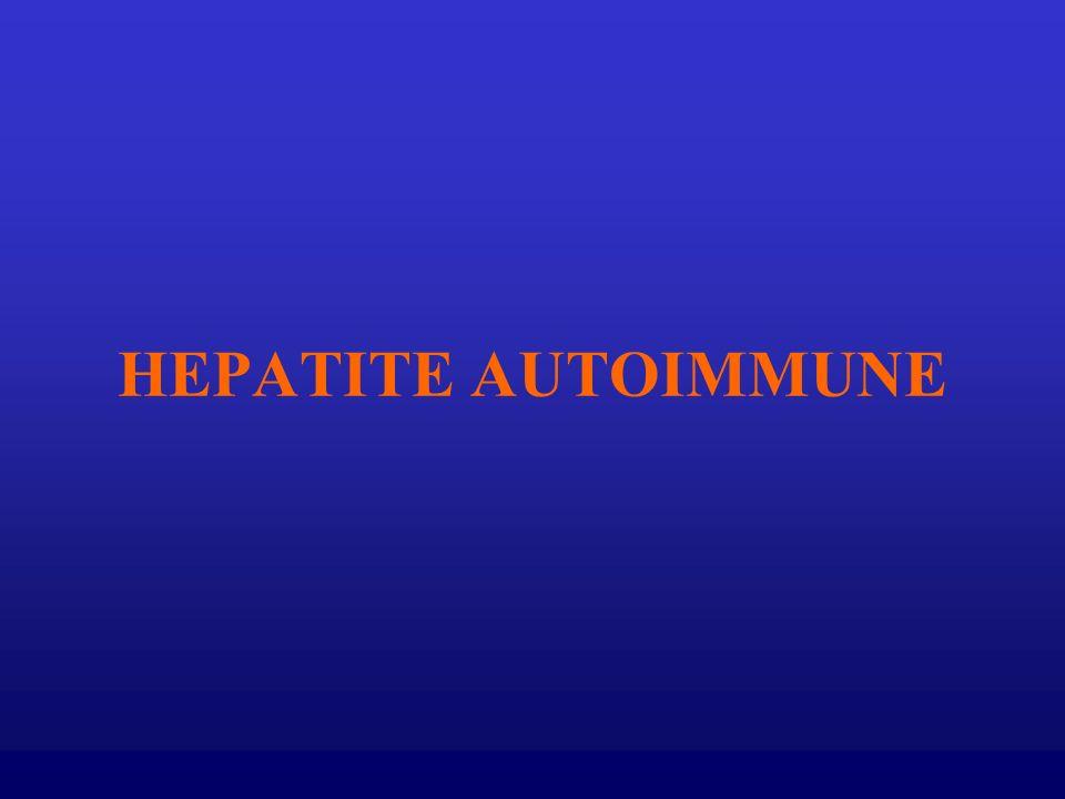 HEPATITE AUTOIMMUNE