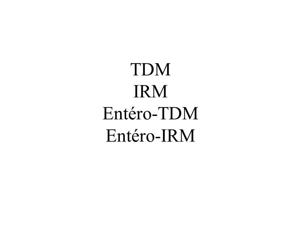 TDM IRM Entéro-TDM Entéro-IRM