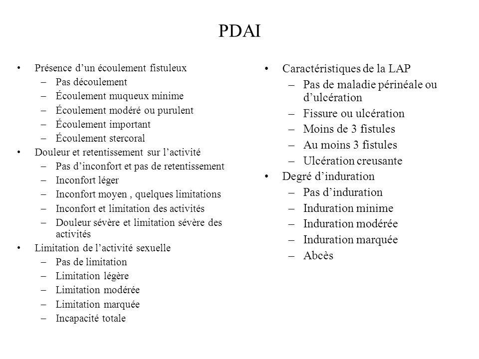 PDAI Caractéristiques de la LAP