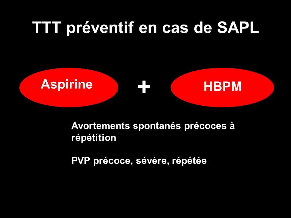 TTT préventif en cas de SAPL
