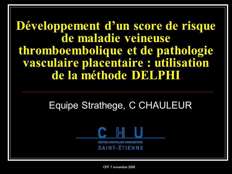 Equipe Strathege, C CHAULEUR