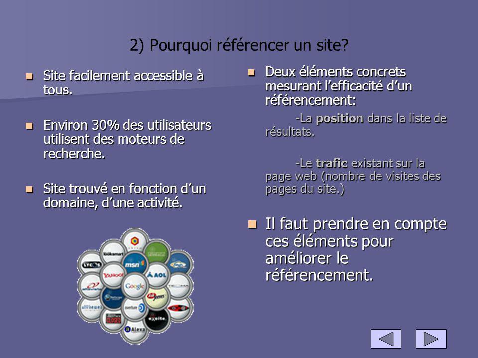 2) Pourquoi référencer un site
