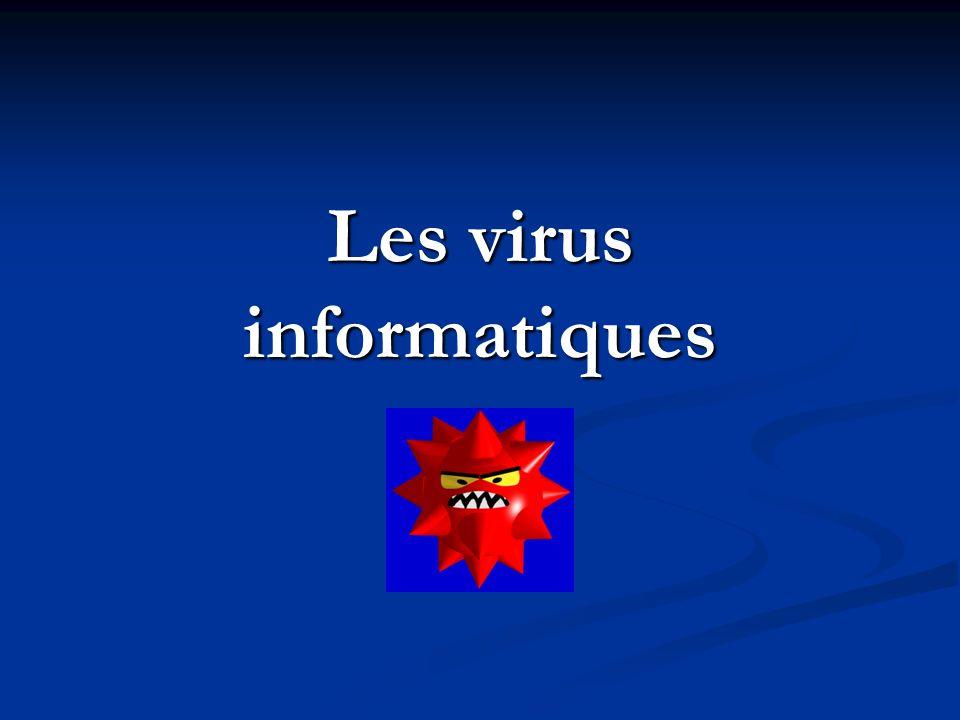Les virus informatiques