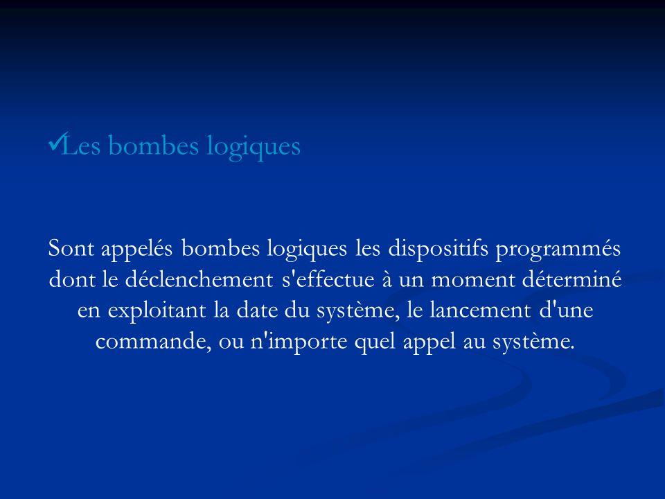 Les bombes logiques