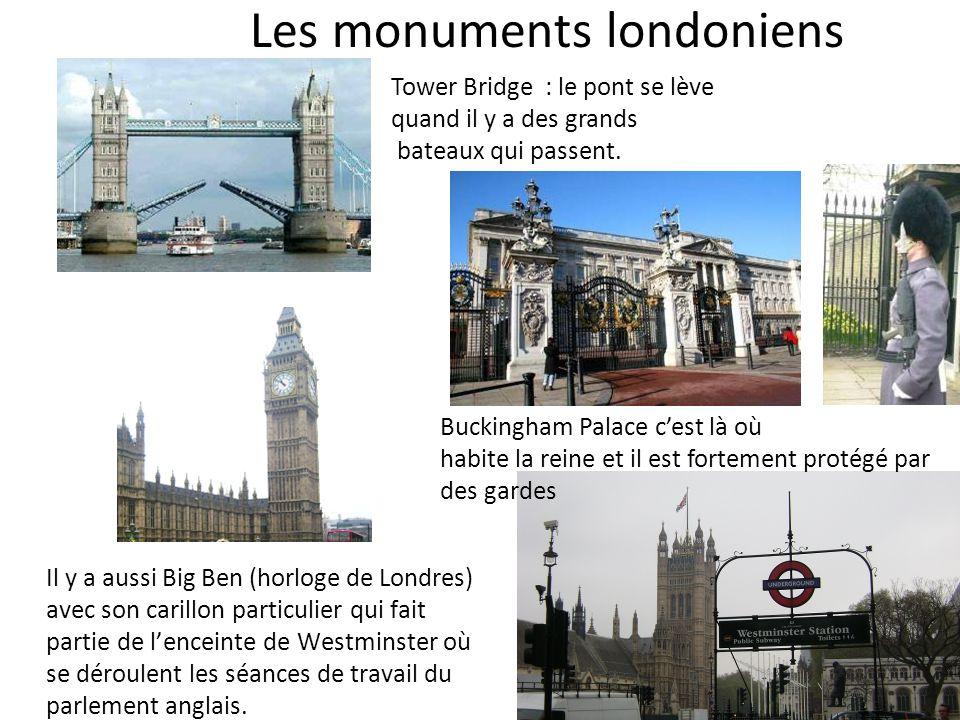 Les monuments londoniens
