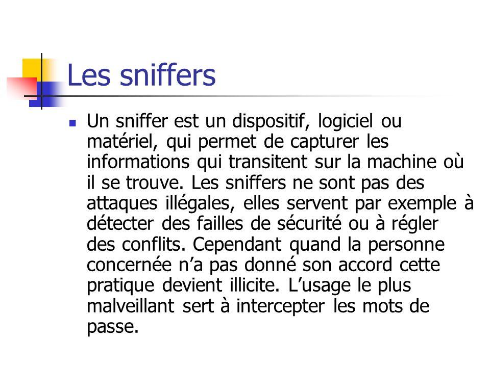 Les sniffers