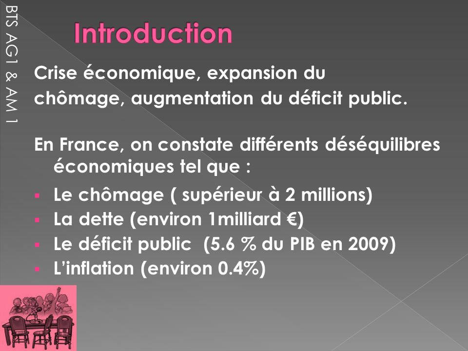 Introduction Crise économique, expansion du