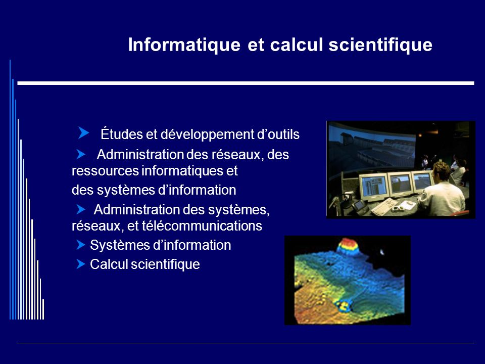 Informatique et calcul scientifique