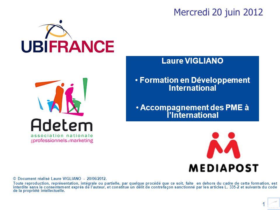 Mercredi 20 juin 2012 Laure VIGLIANO