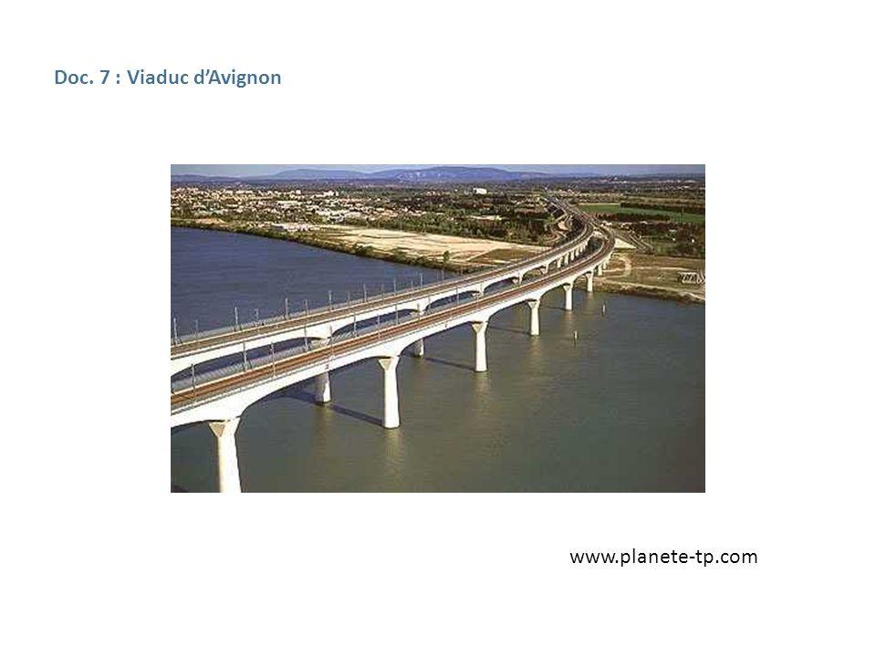 Doc. 7 : Viaduc d'Avignon www.planete-tp.com