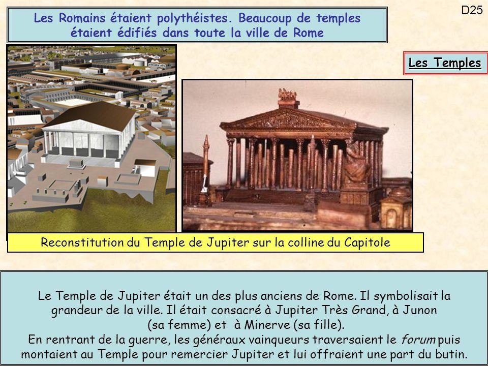 Reconstitution du Temple de Jupiter sur la colline du Capitole