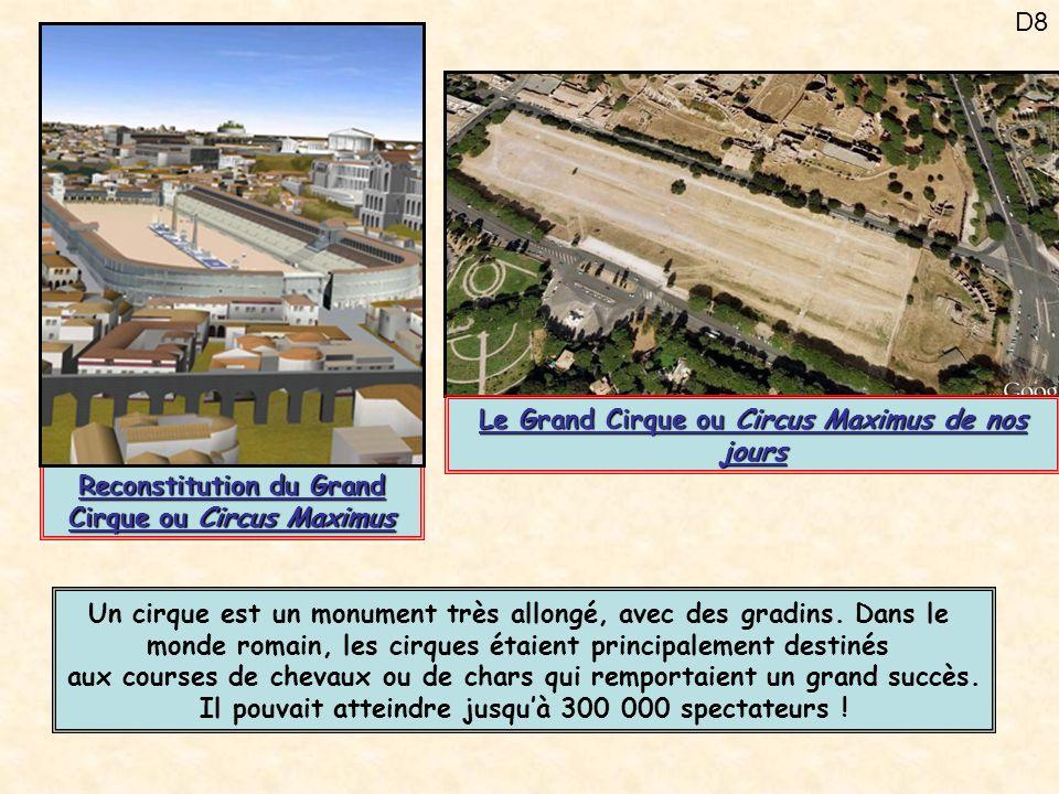 Le Grand Cirque ou Circus Maximus de nos jours