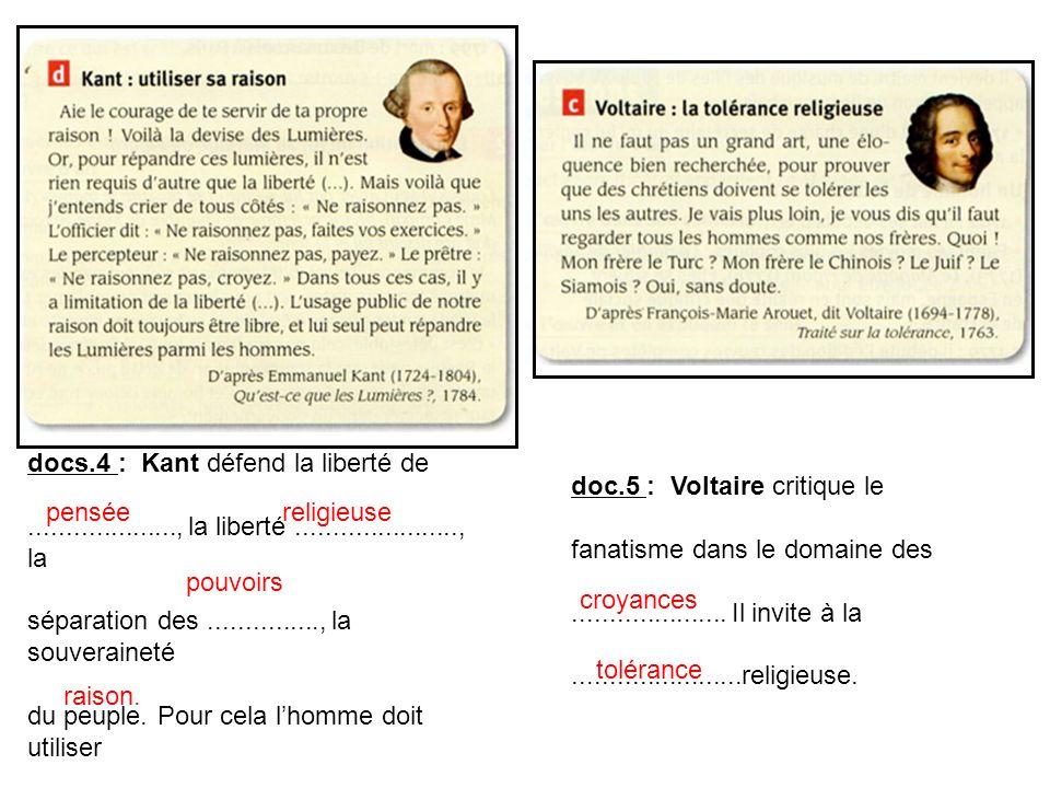 docs.4 : Kant défend la liberté de