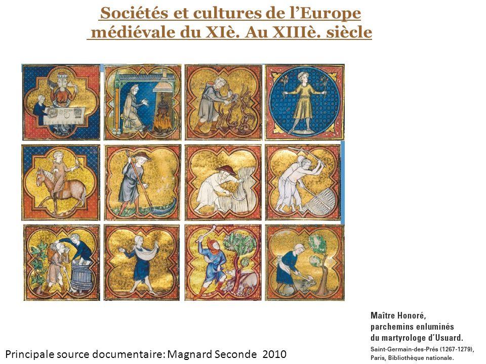médiévale du XIè. Au XIIIè. siècle