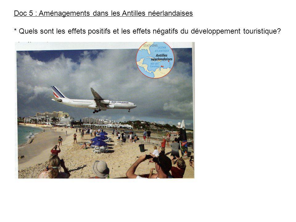 Doc 5 : Aménagements dans les Antilles néerlandaises