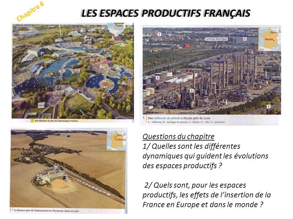 LES ESPACES PRODUCTIFS FRANÇAIS