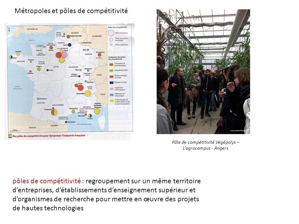 Pôle de compétitivité Végépolys – L'agrocampus - Angers