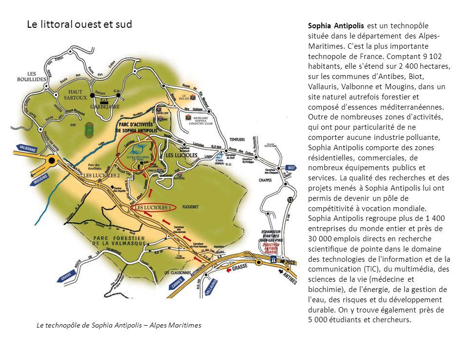 Le technopôle de Sophia Antipolis – Alpes Maritimes