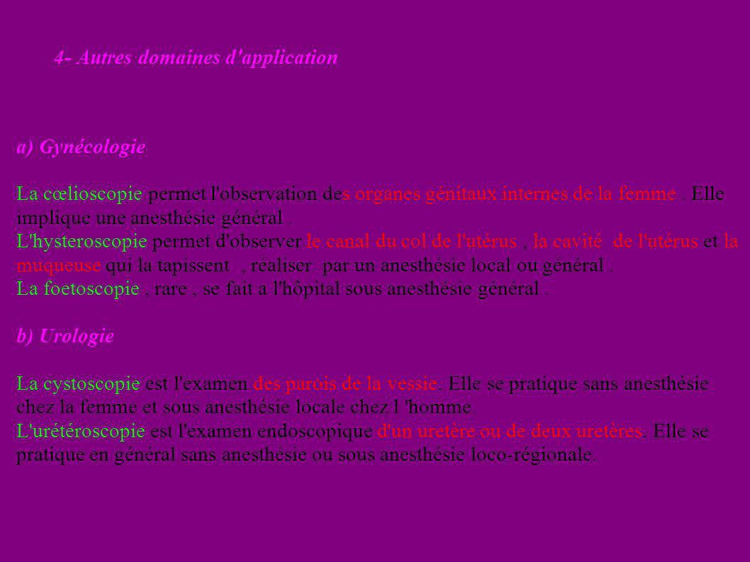 4- Autres domaines d application