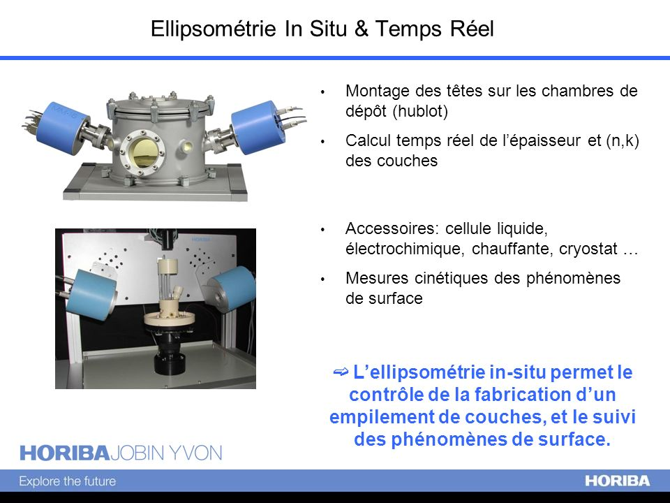 Ellipsométrie In Situ & Temps Réel
