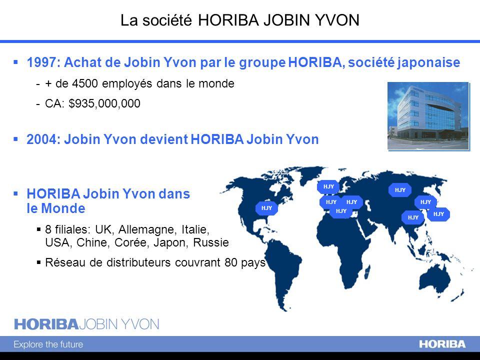 La société HORIBA JOBIN YVON