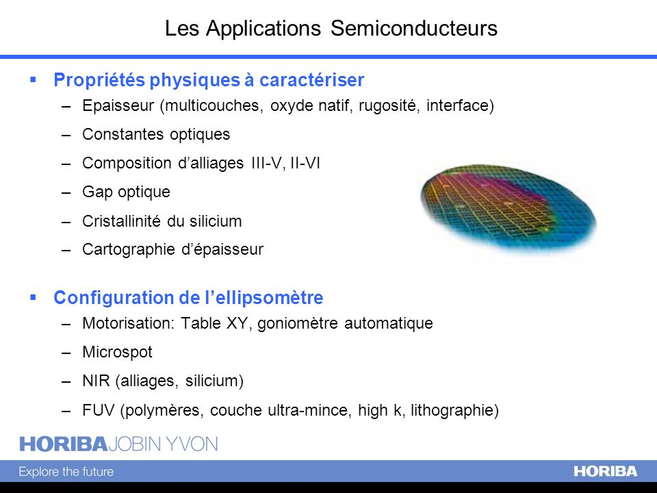 Les Applications Semiconducteurs