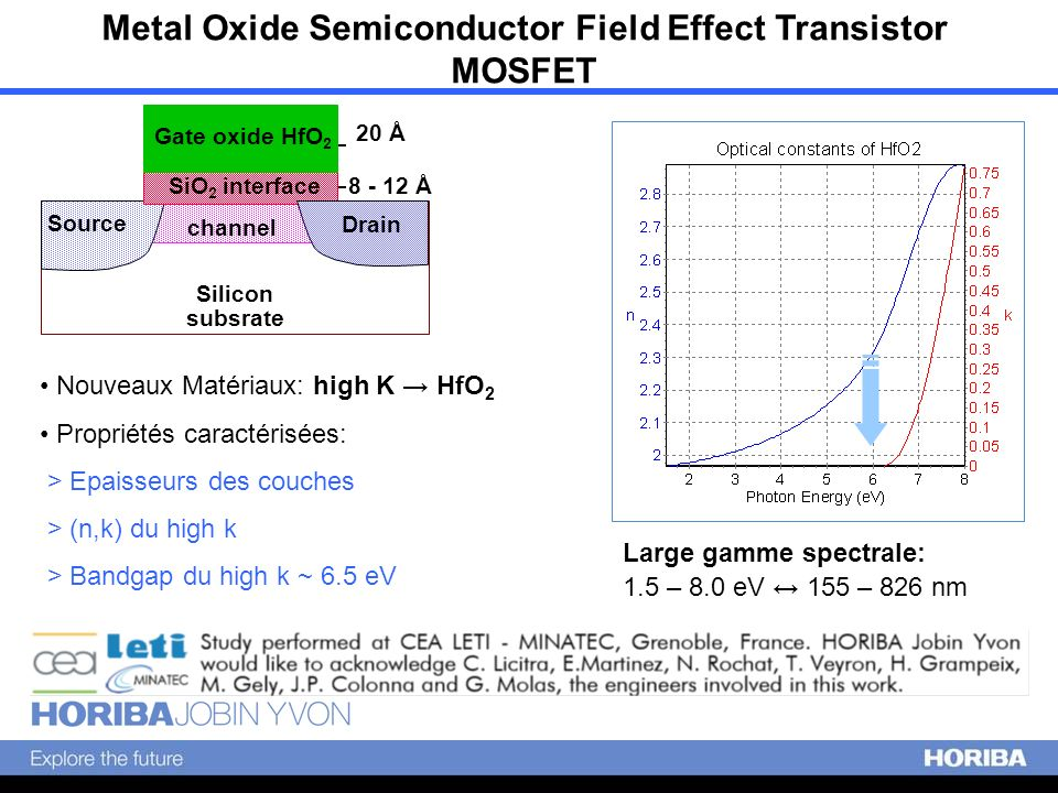 Metal Oxide Semiconductor Field Effect Transistor