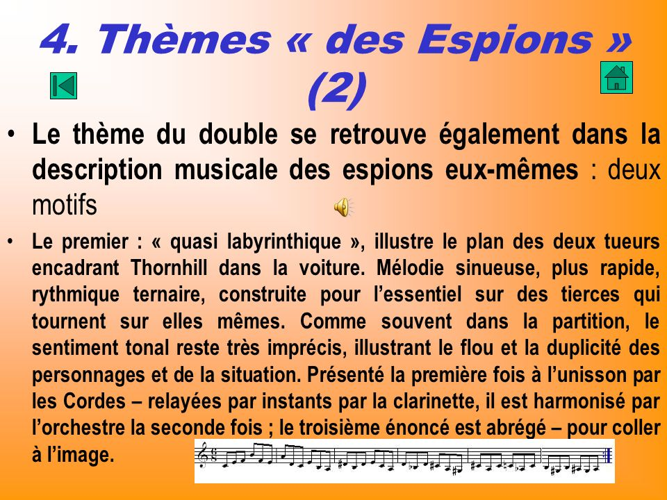 4. Thèmes « des Espions » (2)