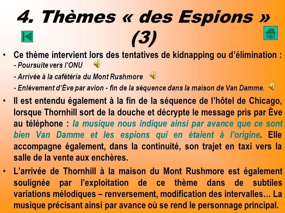 4. Thèmes « des Espions » (3)