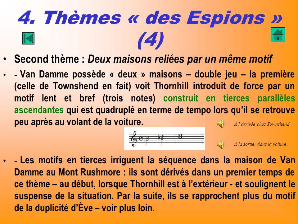 4. Thèmes « des Espions » (4)