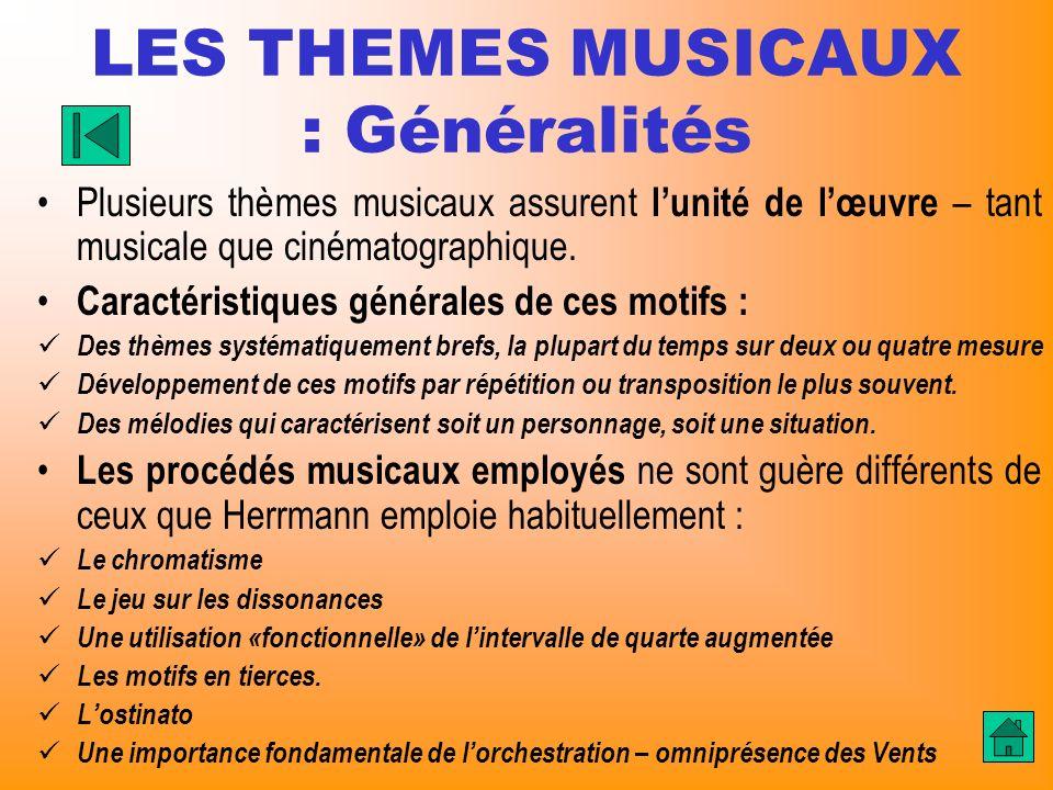 LES THEMES MUSICAUX : Généralités