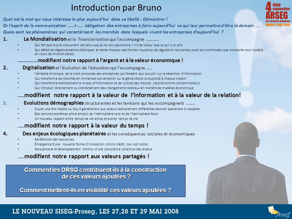 Introduction par Bruno