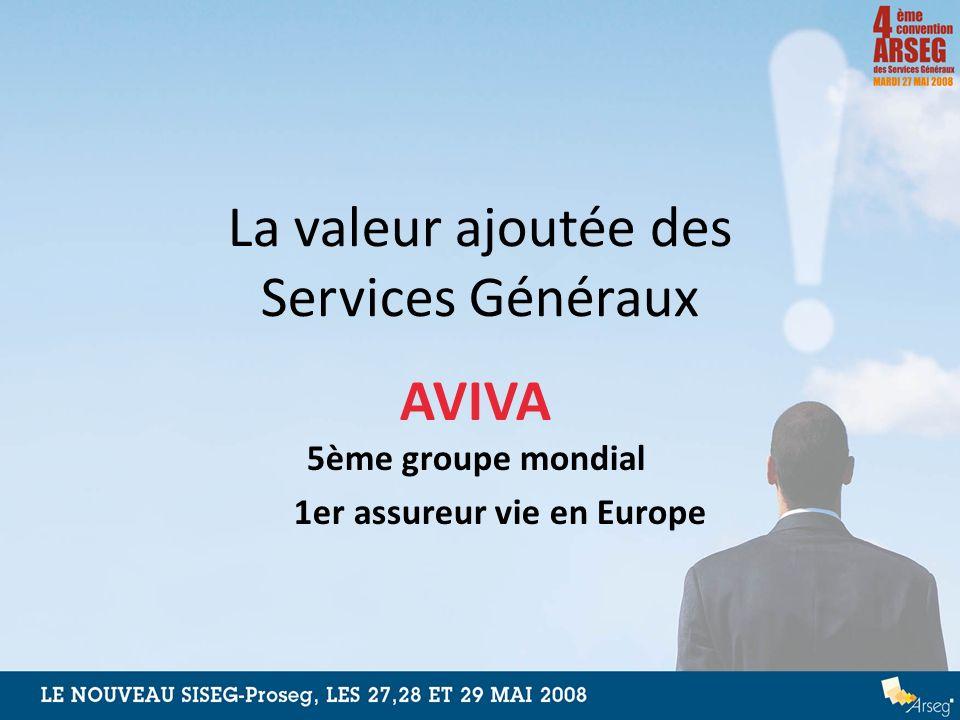 La valeur ajoutée des Services Généraux