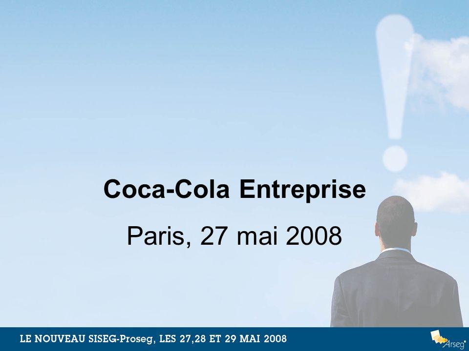 Coca-Cola Entreprise Paris, 27 mai 2008