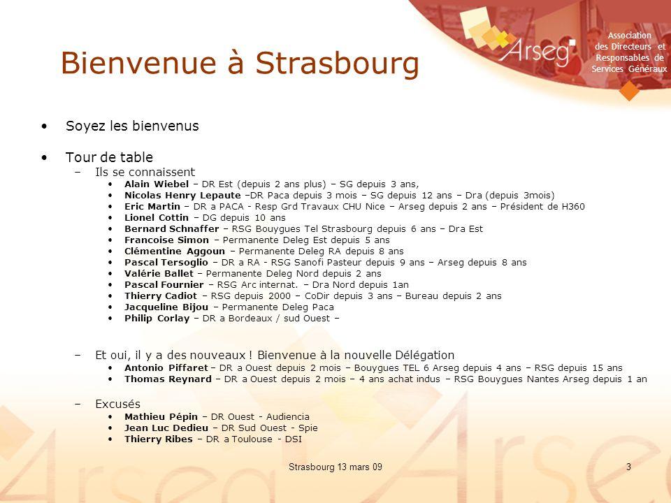 Bienvenue à Strasbourg