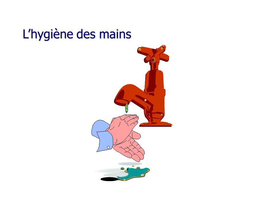 L'hygiène des mains