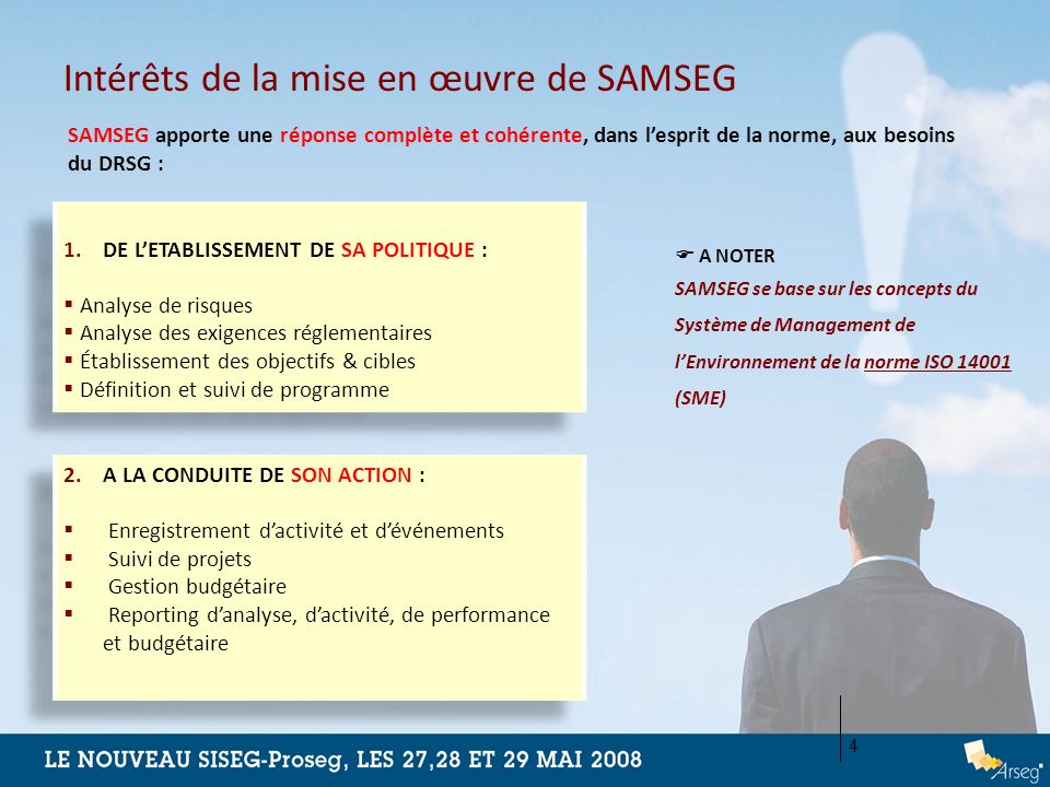 Intérêts de la mise en œuvre de SAMSEG