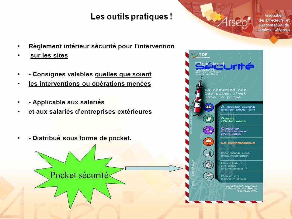 Pocket sécurité Les outils pratiques !