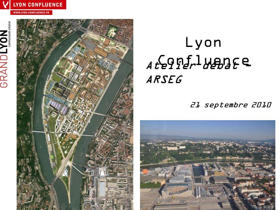 Lyon Confluence Atelier débat - ARSEG 21 septembre 2010