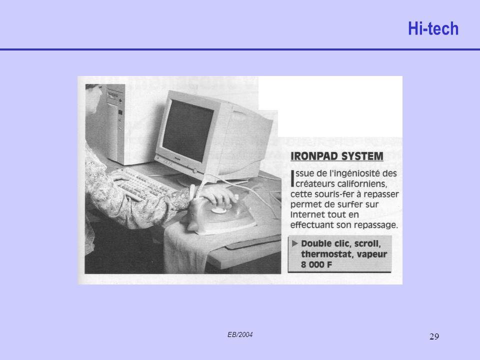 Hi-tech EB/2004