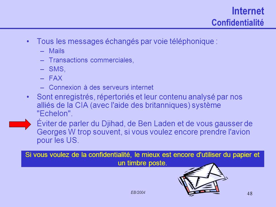 Internet Confidentialité