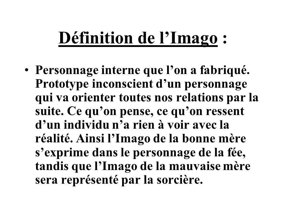Définition de l'Imago :