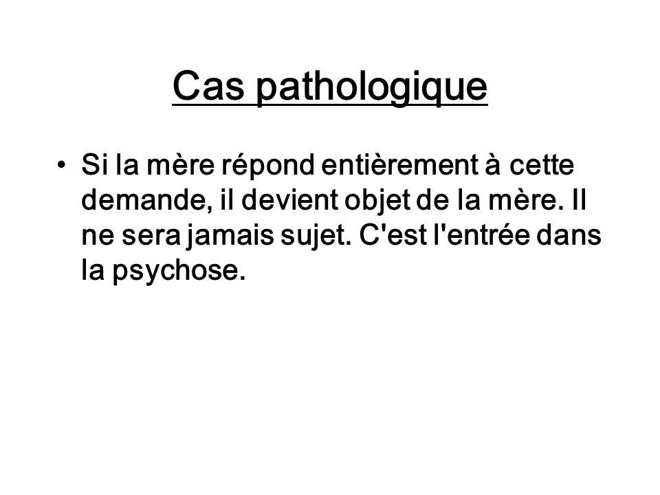 Cas pathologique